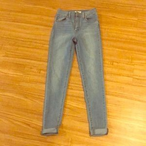Free People Mike High Super Skinny Jeans